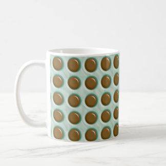 Polkadots - Chocolate Mint Coffee Mug