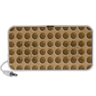 Polkadots - Chocolate Peanut Butter PC Speakers
