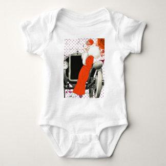 polkadots flapper t-shirt