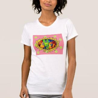 polkadots, flower power T-Shirt
