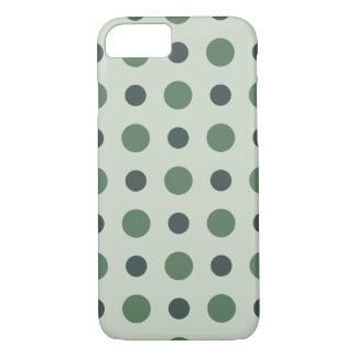 Polkadots Green iPhone 7 Case