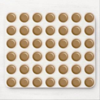 Polkadots - Milk Chocolate and White Chocolate Mouse Pad