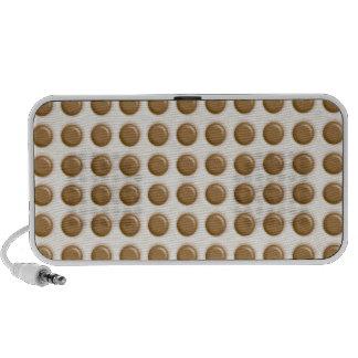 Polkadots - Milk Chocolate and White Chocolate Portable Speakers