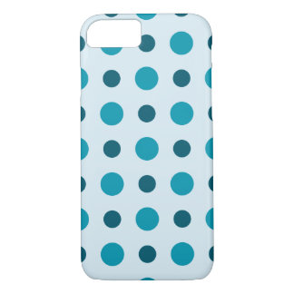 Polkadots Turquoise iPhone 7 Case