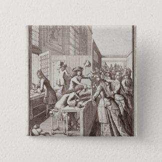 Poll Tax, 1709 15 Cm Square Badge
