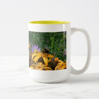 Pollenator Two-Tone Coffee Mug