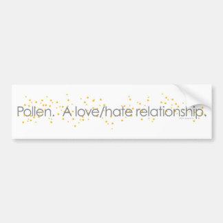 pollenlovehate_tshirt bumper sticker
