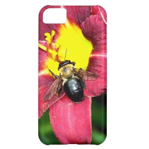 Pollinating Bee iPhone 5C Case