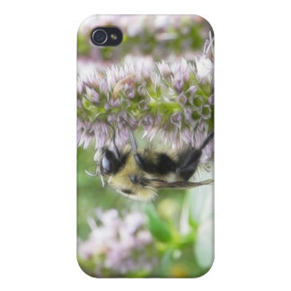 Pollination – Bumblebee on Agastache iPhone 4 Cases