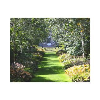 Pollok House Gardens, Glasgow, Scotland. Gallery Wrapped Canvas