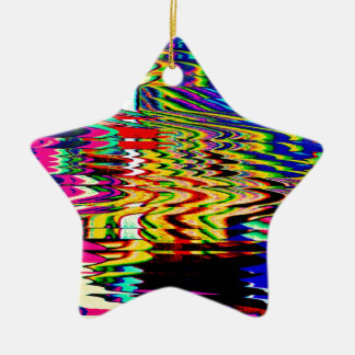 Polluted Pond Ceramic Star Decoration