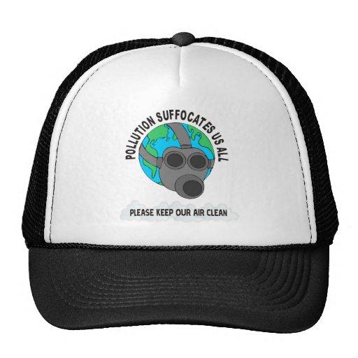 POLLUTION TRUCKER HAT