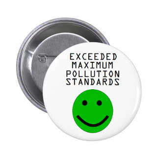 Pollution Monitoring Pin Pro-Pollution button 2