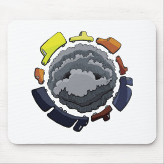 pollution mouse pads