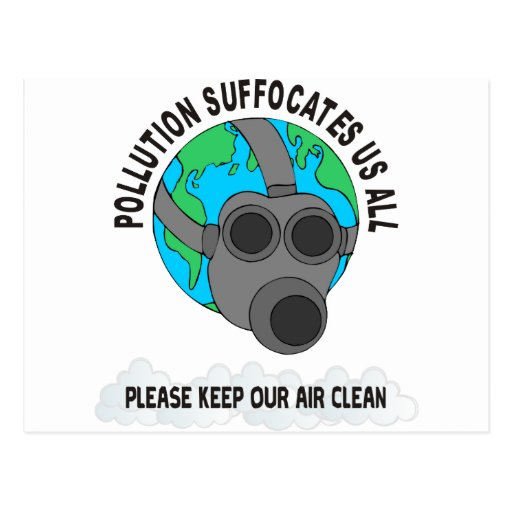 POLLUTION POST CARDS
