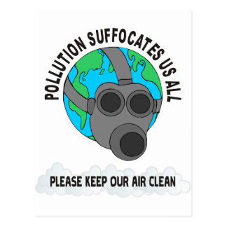 POLLUTION POSTCARD