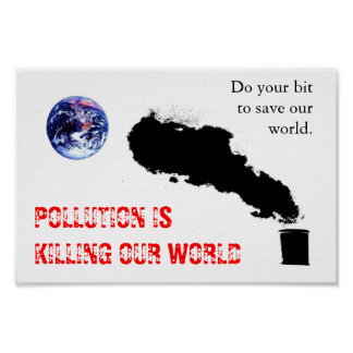 Pollution Posters
