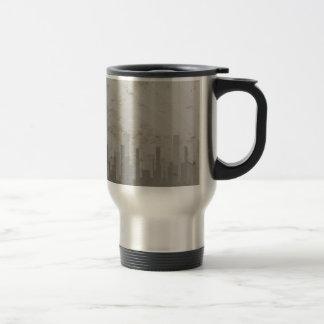 Pollution Stainless Steel Travel Mug