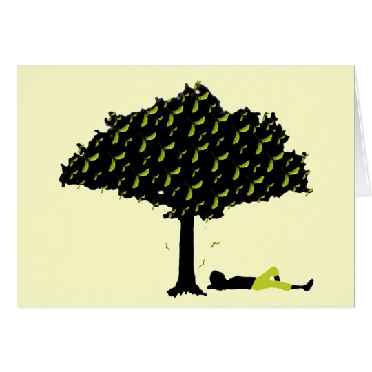 Polly Nose Tree Note Card