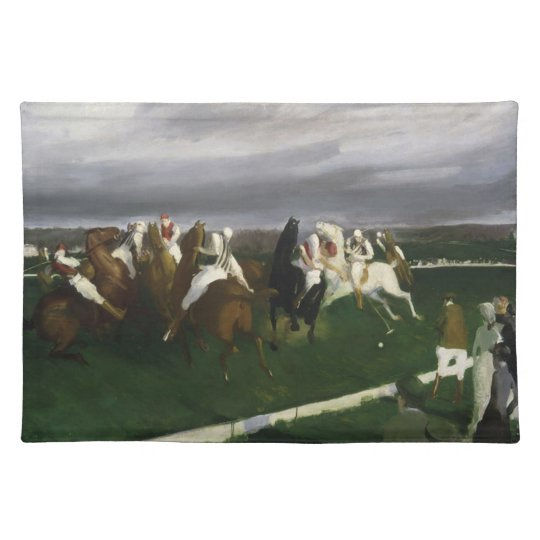 Polo at Lakewood - George Bellows Place Mat