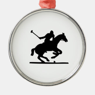 Polo Horse Christmas Ornament