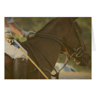 Polo Horse Greeting Card