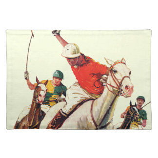 Polo Match Placemat