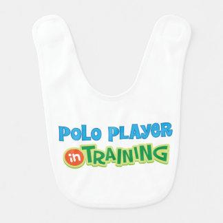 Polo Player in Training Kids Shirt Bib