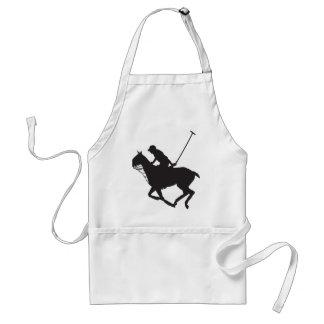 Polo Pony Silhouette Standard Apron