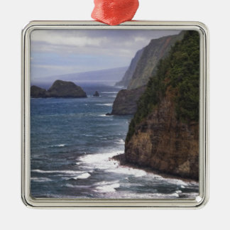Pololu Valley Hawaii Christmas Ornament