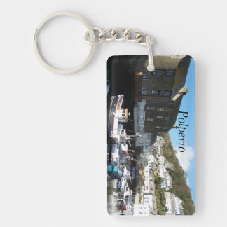 Polperro Cornwall England Key Ring