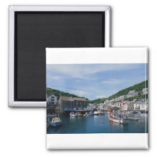 Polperro Harbor Cornwall England U K Fridge Magnet