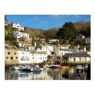Polperro Harbour Cornwall England Post Cards