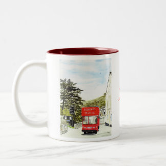 'Polperro Tram' Mug