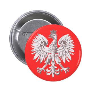 Polska 6 Cm Round Badge