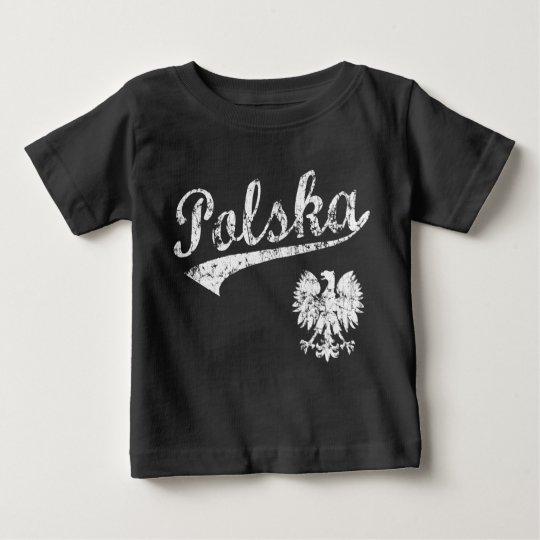 Polska Baseball Style Baby T-Shirt