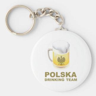 Polska derinking Team Key Ring