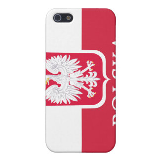 Polska Flag Coat of Arms White Eagle  iPhone 5/5S Case