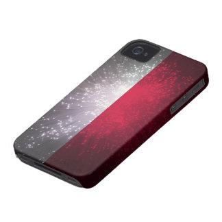 Polska flaga iPhone 4 cases