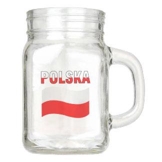 Polska Mason Jar