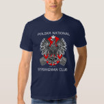 POLSKA National Strongman Club T Tee Shirt