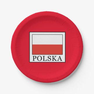Polska Paper Plate