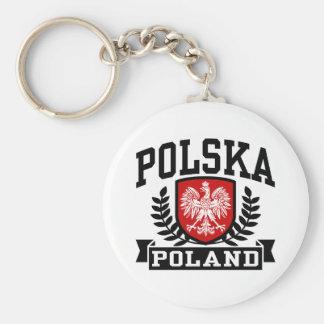 Polska Poland Key Ring