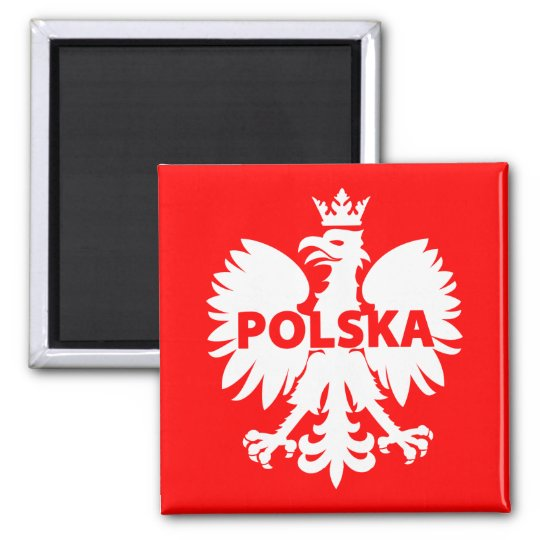 Polska Polish Eagle Symbol Fridge Magnet