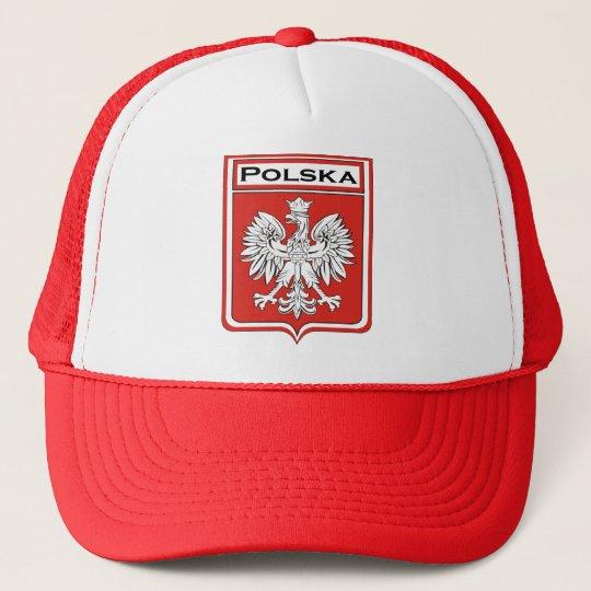 Polska Shield / Polish Flag Cap /