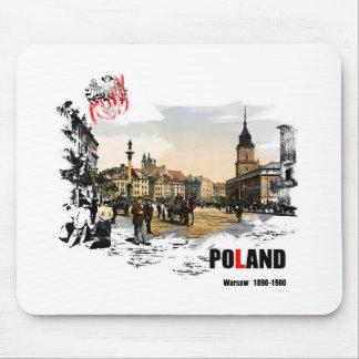 Polska - Warszawa 1980-1900 Mousepads