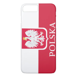 Polska White Eagle Flag iPhone 7 Plus Case