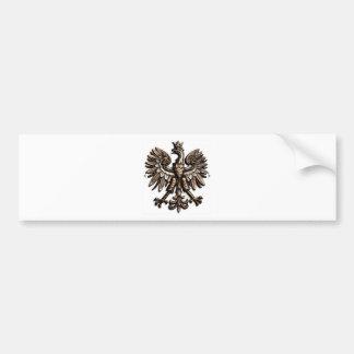 Polski orzelek bumper sticker