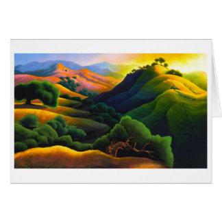 Poly Canyon Card