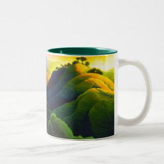 Poly Canyon Two-Tone Mug